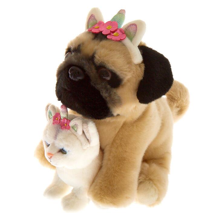 Doug the Pug™ & Fiona Medium BFF Plush Toy Set,