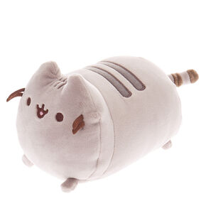 Pusheen® Small Log Soft Toy – Grey,