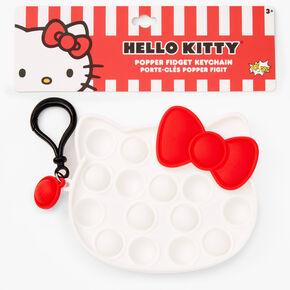 Pop Poppers Hello Kitty® Fidget Toy Keychain - White,