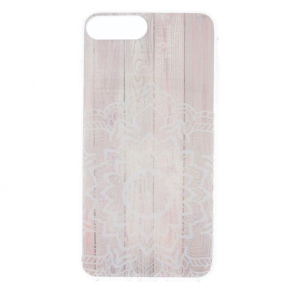 Claire's - wood mandala phone case - 1