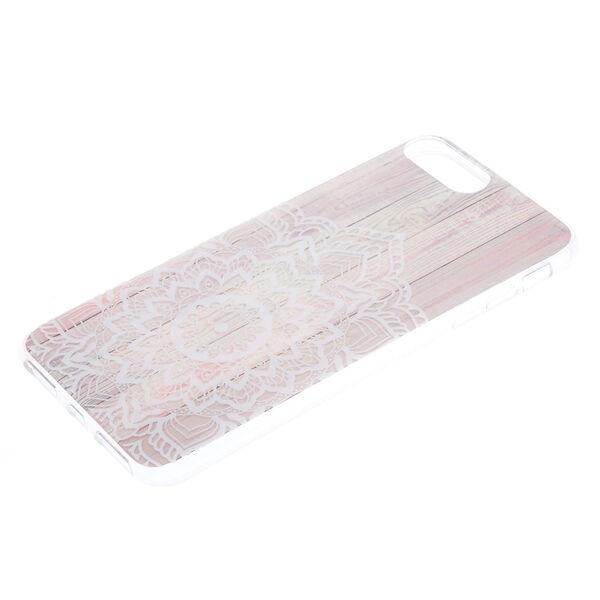 Claire's - wood mandala phone case - 2