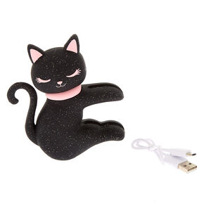 MojiPower® Cat Battery Power Bank - Black,
