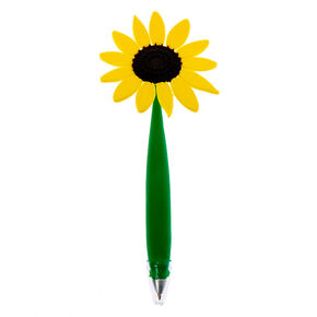 Daisy Flower Floppy Pen - Yellow,