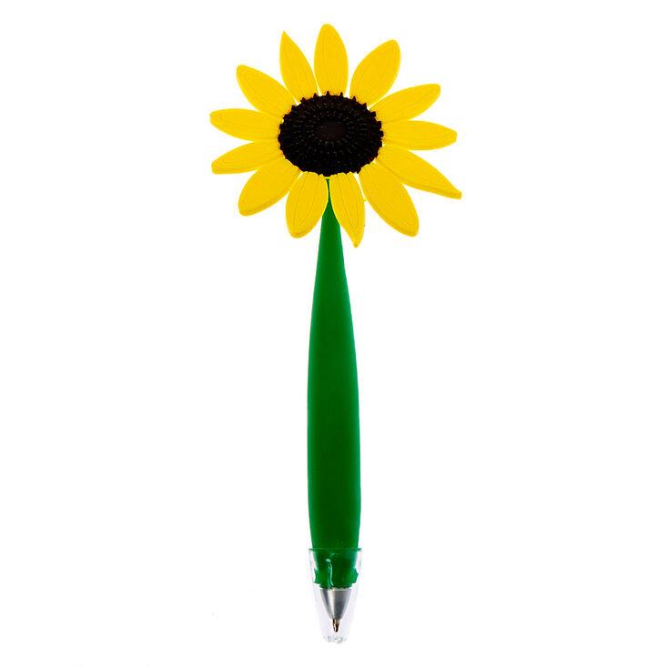 Daisy Flower Floppy Pen - Yellow,