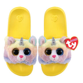Ty® Fashion Heather the Unicorn Pool Slides,