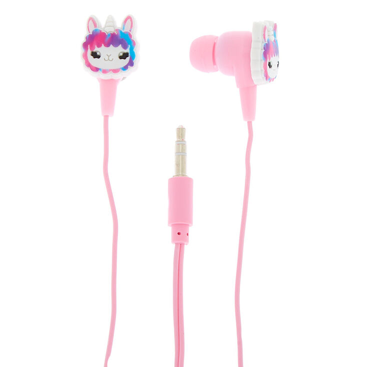 Lala the Llamacorn Earbuds with Winder,