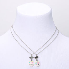 Best Friends Unicorn Macaroons Pendant Necklaces - 2 Pack,