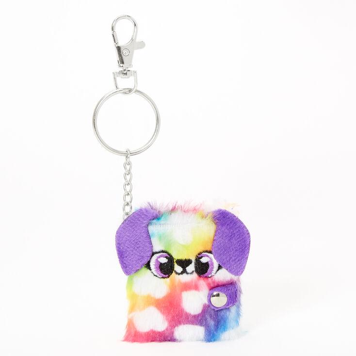 Dottie the Puppy Mini Furry Diary Keychain,