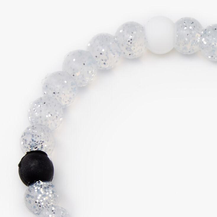 Clear Glitter Radiant Fortune Bracelet,
