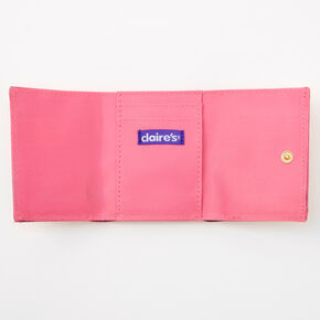 Heart Trifold Wallet - Blush Pink,