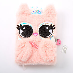 Penelope the Owl Lock Diary - Pink,