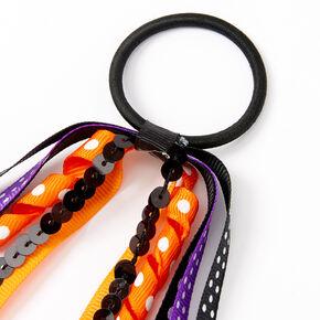 Halloween Ribbon Hair Tie,
