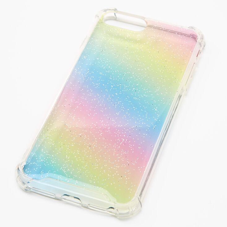 Rainbow Glitter Phone Case - Fits iPhone 6/7/8 Plus,