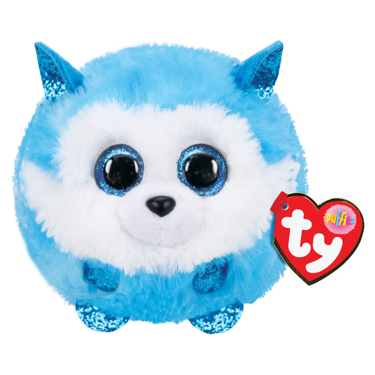 Peluche Prince le husky Ty Puffies,