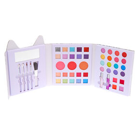Feline Flawless Holographic Leopard 48 Piece Makeup Set,