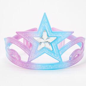 Claire's Club Pastel Crown - Purple,