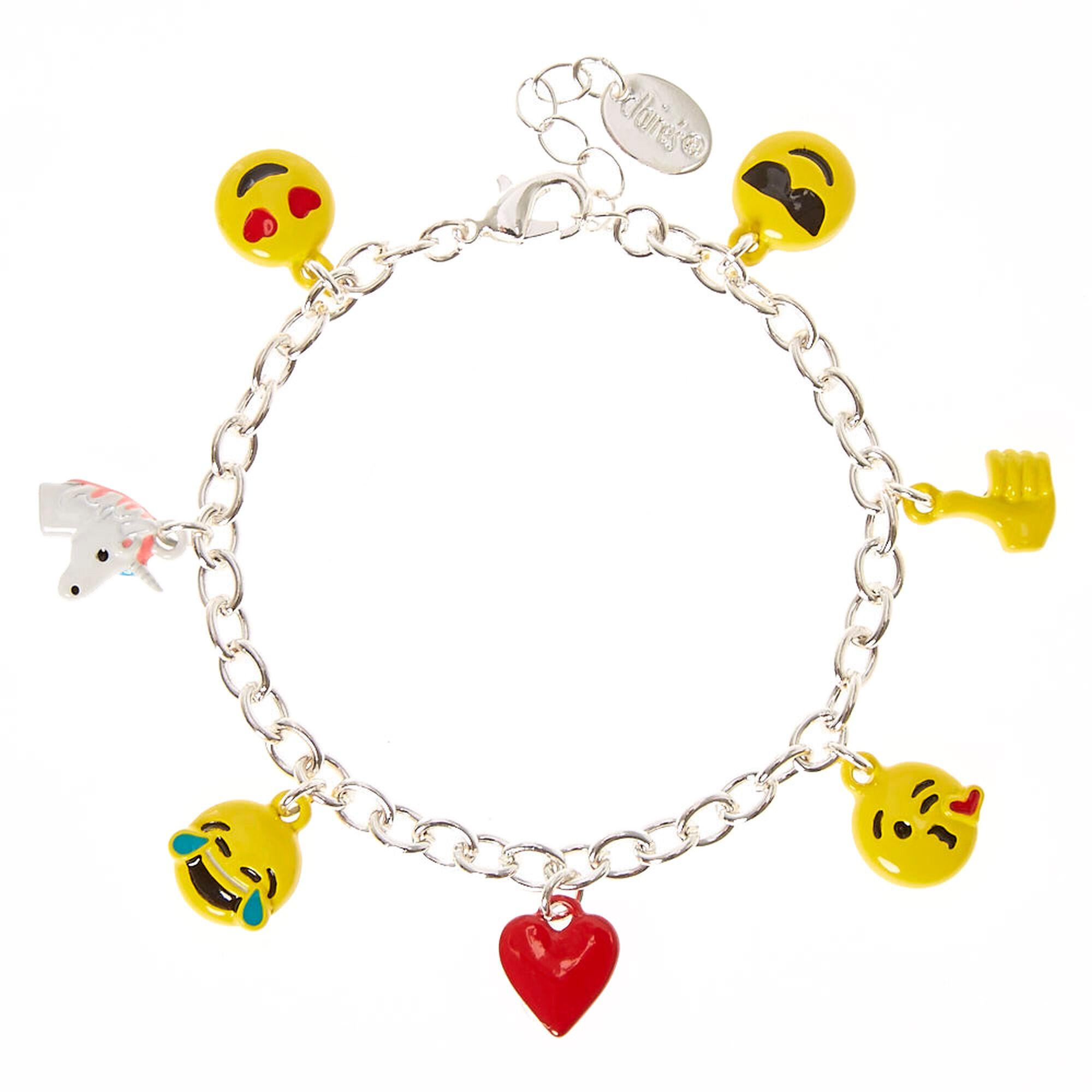 Emoji Charm Bracelet Emoji Charm Bracelet