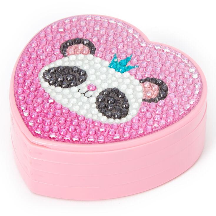 Claire's Club Panda Heart Lip Gloss Set,