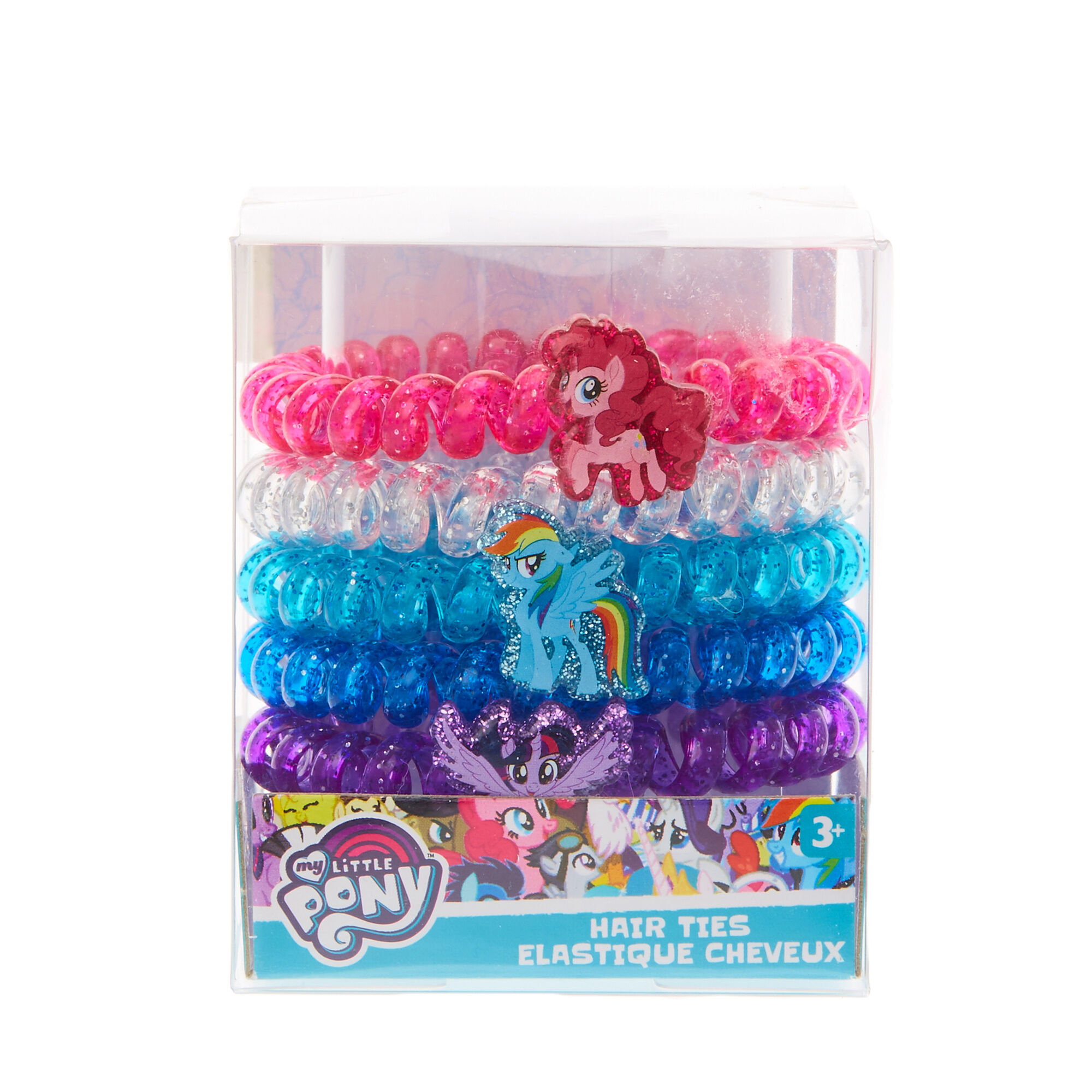 ... My Little Pony Coloured Coiled Hair Bobbles a486eef5501