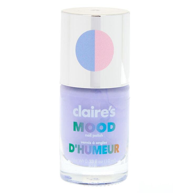 Pastel Blue Mood Changing Nail Polish
