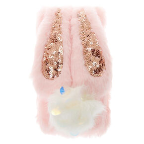 Bunny Faux Fur Phone Case - Fits iPhone 6/7/8/SE,