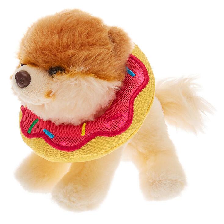 Boo The World's Cutest Dog™ Small Doughnut Soft Toy - Cream,
