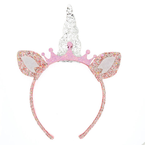 Claire's - club glitter unicorn headband - 2