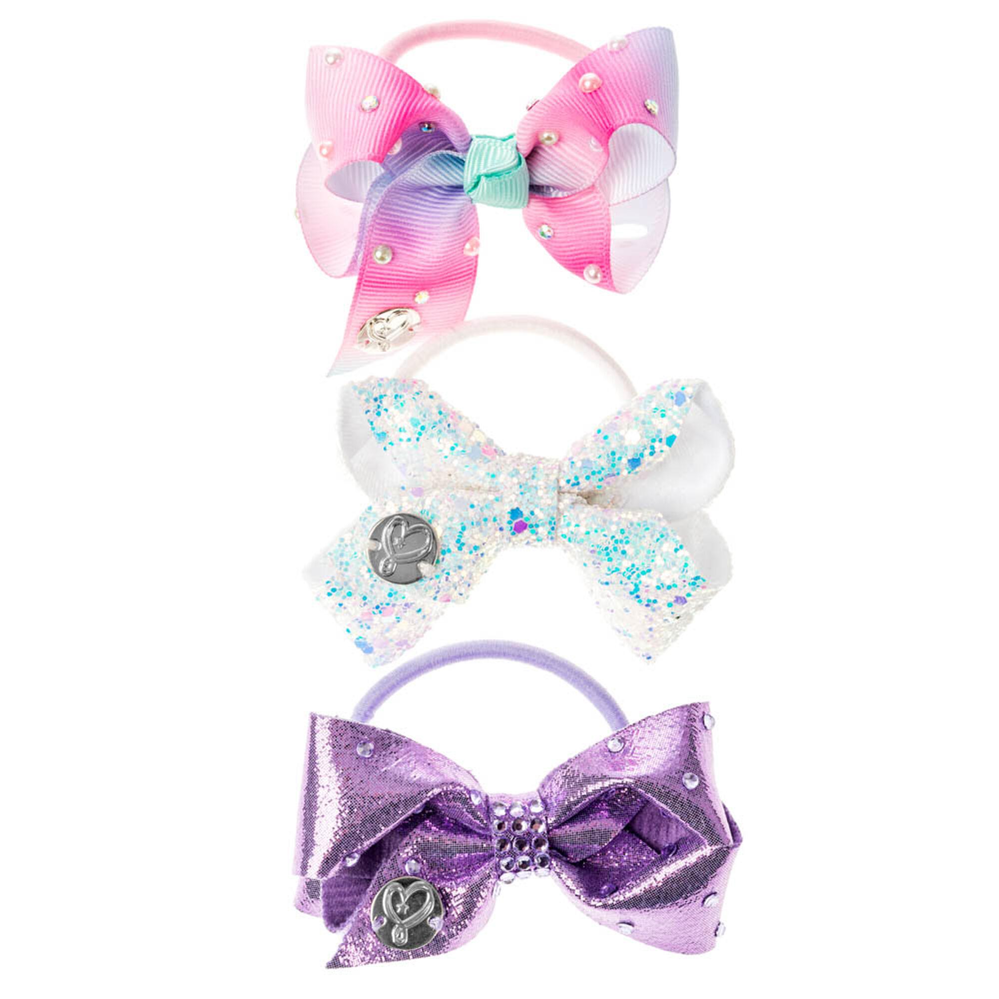 ... JoJo Siwa trade  Purple Mini Bow Hair Elastics ... 152743774dd