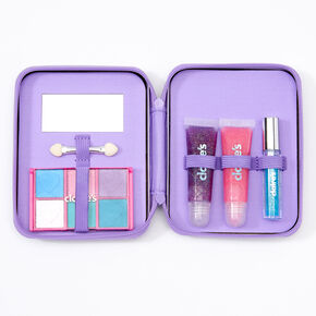 Rainbow Tie Dye Bling Makeup Set - Purple,