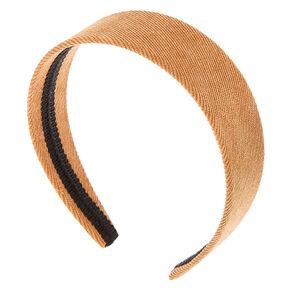Corduroy Headband - Tan,