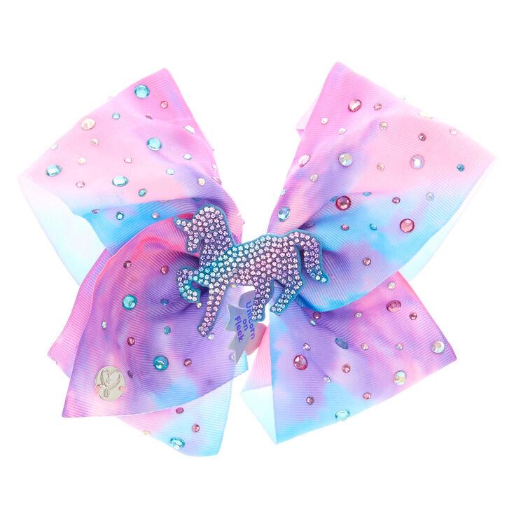 JoJo Siwa™ Large Unicorn on Fleek Signature Hair Bow - Purple,