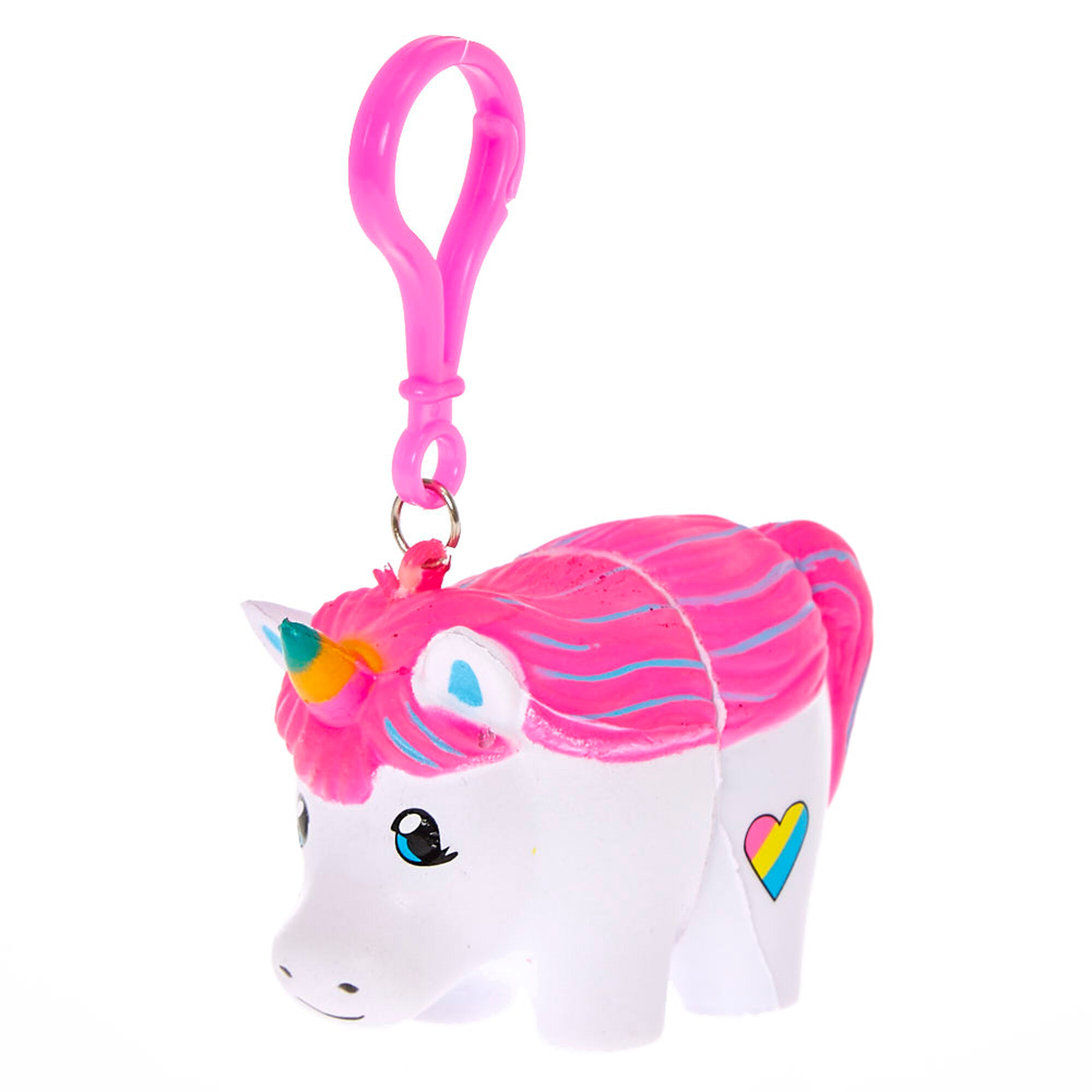 YoYo Squeeze Lip Balm Unicorn Keychain Claire s CA