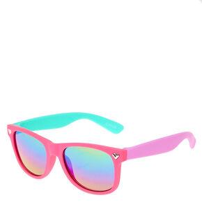 Girls Sunglasses - Rubber   Retro Sunglasses  dfd83b897
