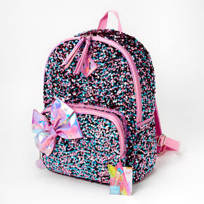 JoJo Siwa™ Holographic Sequin Backpack - Pink,