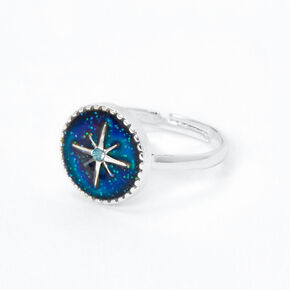 North Star Mood Ring - Silver,