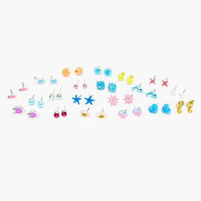 Under The Sea Stud Earrings - 20 Pack,