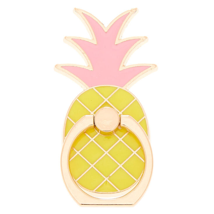 Pineapple Ring Stand - Yellow,