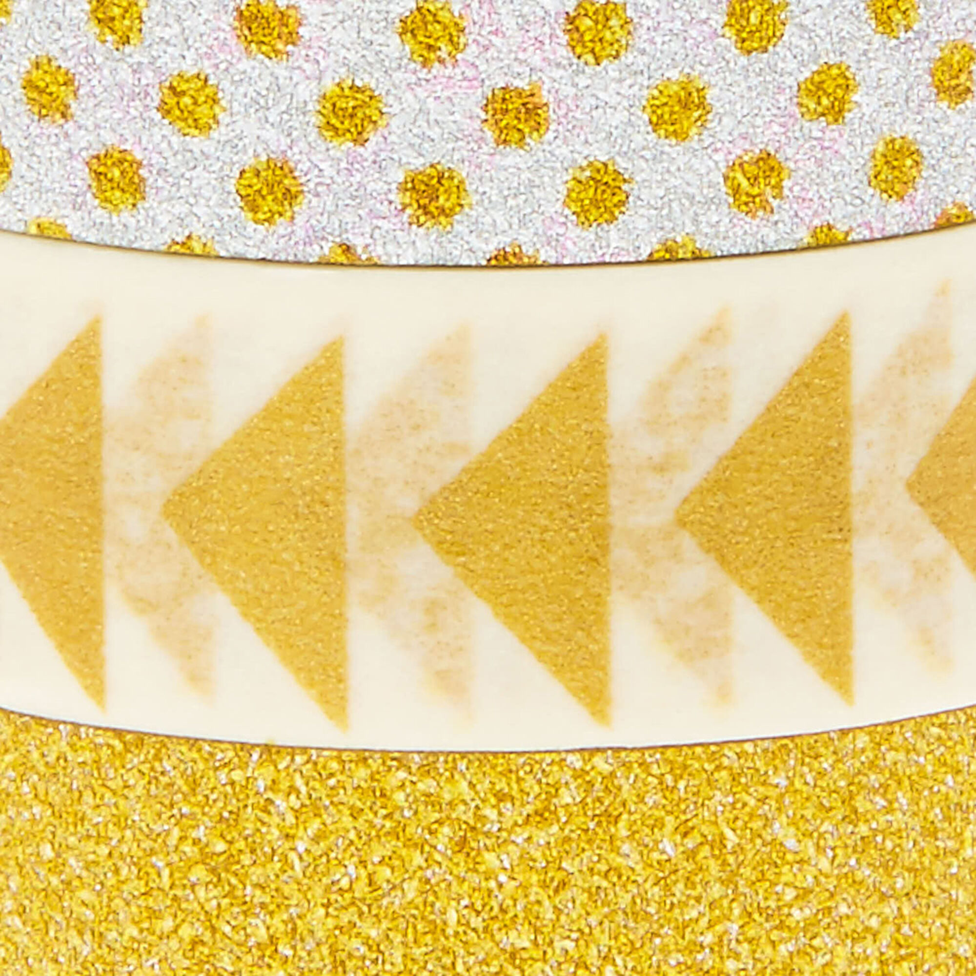 Silver & Gold Decorative Tape - 3 Pack   Claire\'s US