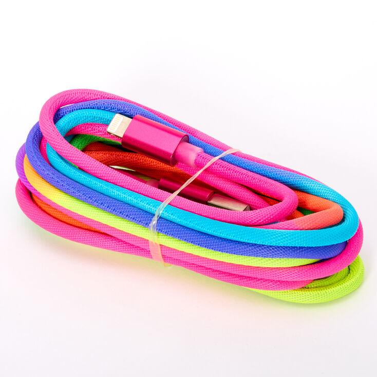USB 3M Rainbow Charging Cord,