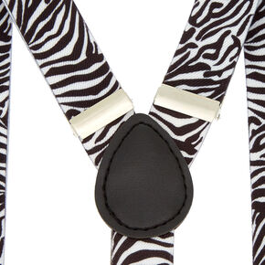 Zebra Braces - White,