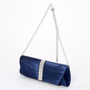 Pochette ornementée - Bleu marine,
