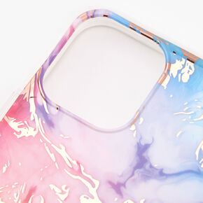 Gold Pastel Rainbow Marble Phone Case - Fits iPhone 10/11P,