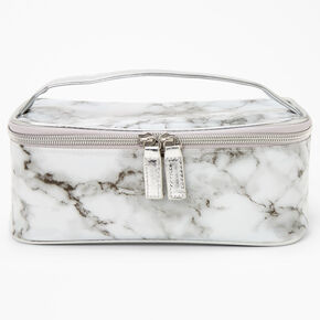 Black and White Marble Makeup Bag,