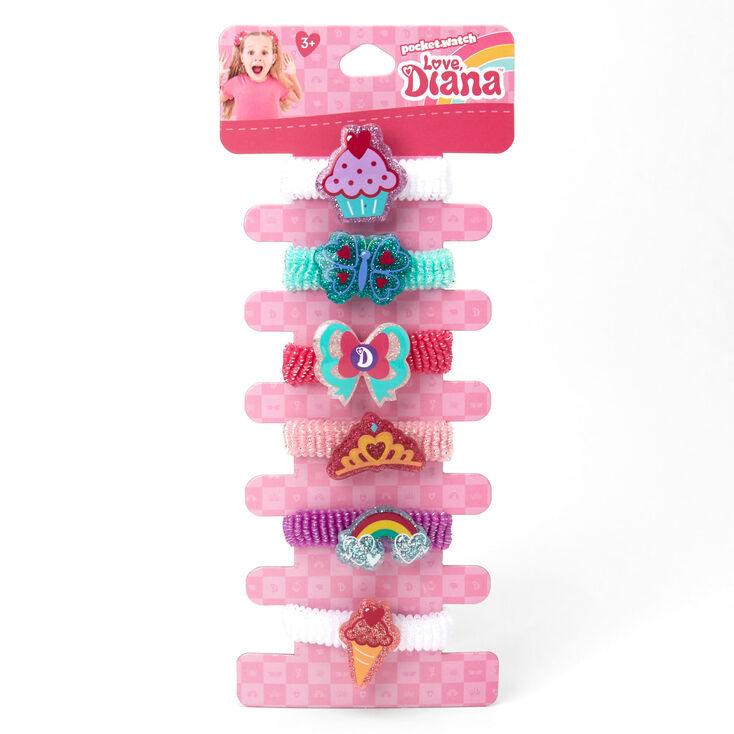 Love, Diana™ Glitter Charm Hair Bobbles – 6 Pack,