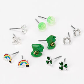 St. Patrick's Day Stud Earrings - 6 Pack,