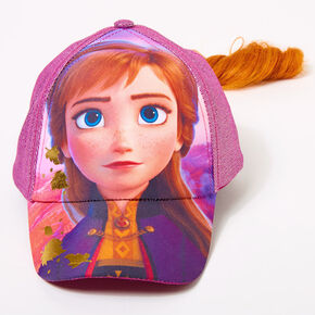 ©Disney Frozen 2 Anna Baseball Cap With Hair,