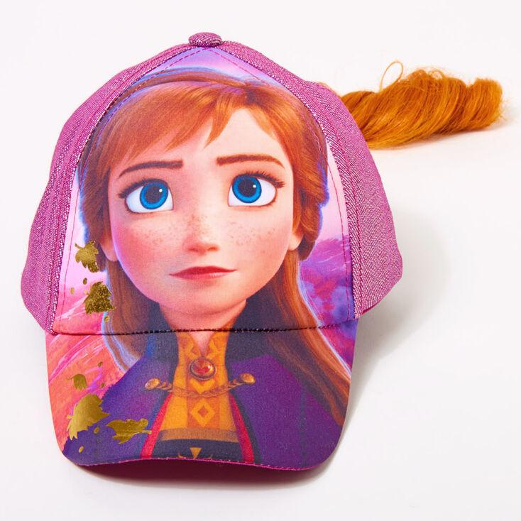 ©Disney Frozen 2 Anna Baseball Cap With Hair,