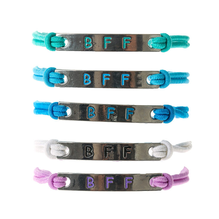Jewel Tone Stretch Friendship Bracelets - 5 Pack,