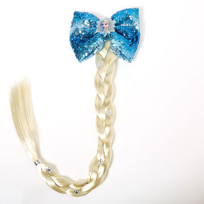 ©Disney Frozen 2 Elsa Fake Braid & Sequin Bow Hair,