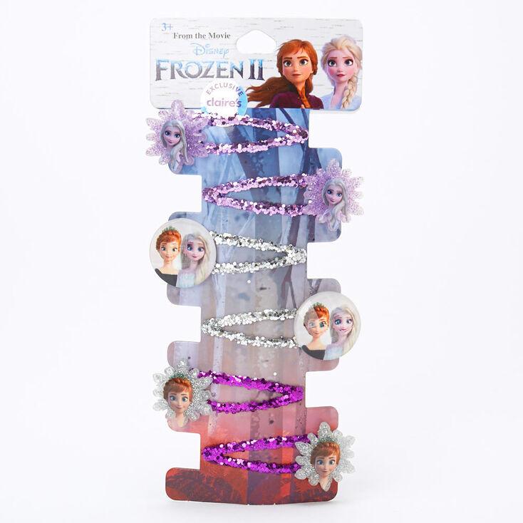 ©Disney Frozen 2 Glitter Snap Clips – 6 Pack,